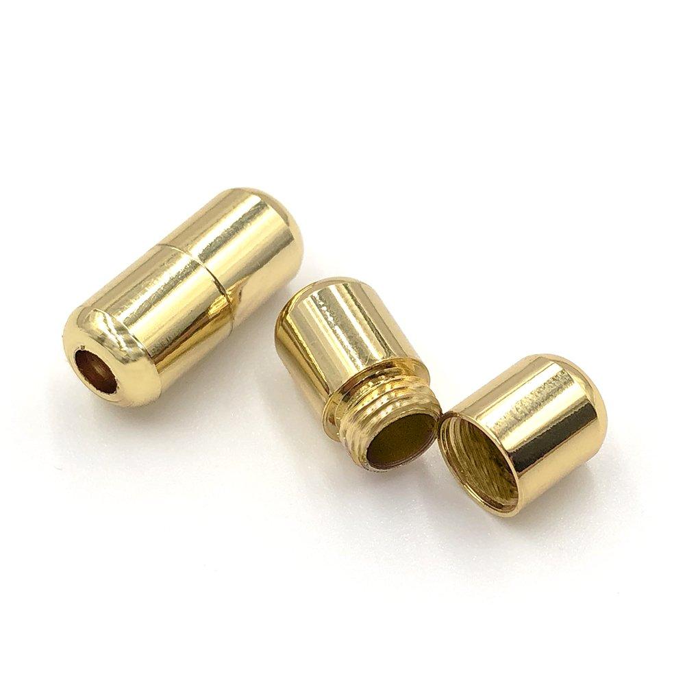 Cápsulas douradas para atacadores elásticos Ata®